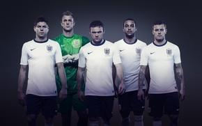Picture football, England, form, Nike, Football, Gerard, England, Steven Gerrard, Rooney, Theo Walcott, Jack Wilshere, Nike, ...