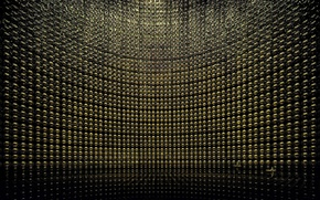 Picture water, reflection, scientists, photomultipliers, Kamiokande, neutrino detector