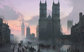 Picture London, Assassins Creed, Art, Syndicate, Syndicate, Ubisoft Quebec, Assassin's Creed: Syndicate, Assassin's Creed: Syndicate