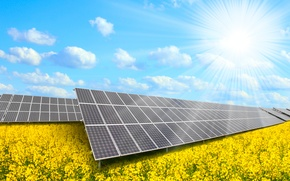 Wallpaper solar panels, natural resources, solar energy