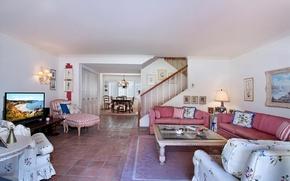 Picture design, sofa, interior, wardrobe, living room