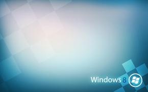 Wallpaper logo, microsoft, brand, Windows 8