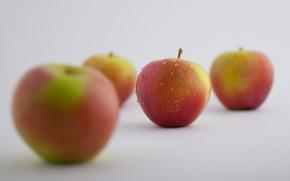 Wallpaper Apple, food, different
