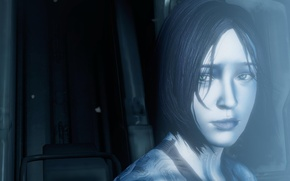Picture Halo, Cortana, video game, A.I.