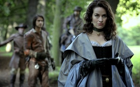 Picture The series, Women, The Musketeers, The Musketeers, Maimie McCoy, Milady