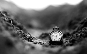 Picture macro, background, widescreen, black and white, Wallpaper, watch, wallpaper, different, widescreen, background, full screen, HD …
