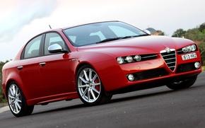 Picture Alfa Romeo, Red, Rosso, Alfa Romeo Wallpaper, Alfa Red, Alfa Romeo 159 Wallpaper, Alfa Romeo …