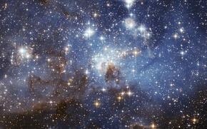 Picture space, stars, nebula, space, nebula, stars, LH 95