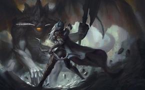 Picture Archer, diablo, warcraft, Sylvanas, Heroes of the Storm
