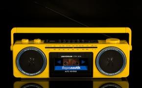 Picture retro, classic, tape, Universum, Aqua nautical, CTR-3074