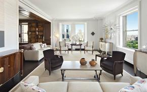 Picture design, style, New York, interior, luxury apartment