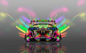 Picture Auto, Design, Neon, Machine, Bright, Style, Grey, Wallpaper, Background, Toyota, Art, Art, Abstract, Photoshop, Photoshop, ...