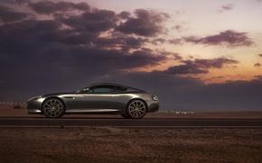 Picture Aston Martin, DB9, Dubai, Side, Supercar