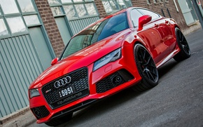 Picture Audi, Wheels, RS7, Strasse
