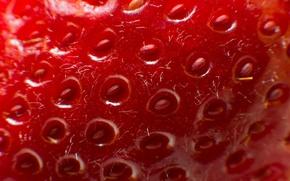 Wallpaper texture, strawberry, berry