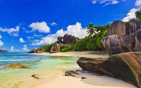 Wallpaper Seychelles, the Maldives, island