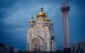 Picture Church, Khabarovsk, WVTM photo, The Square Of Glory