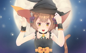Picture hat, anime, art, halloween, Re: Zero kara hajime chip isek or Seikatsu, From scratch, Felix …