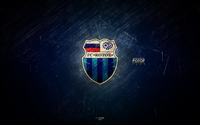 Picture Russian, football club, Volgograd, blue, volzhane, The rotor