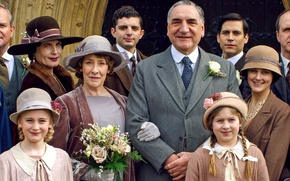 Wallpaper the series, actors, drama, wedding, characters, Downton Abbey