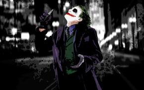 Wallpaper Joker, paint, makeup