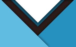 Picture white, line, blue, blue, black, design, color, material