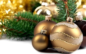 Picture holiday, balls, toys, new year, spruce, the scenery, happy new year, christmas decoration, Christmas Wallpaper, …
