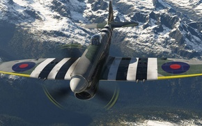 Picture the plane, Tempest, Hawker, British single-seat fighter