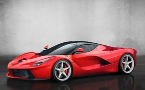 Picture red, Ferrari, car, new, 2013, LaFerrari