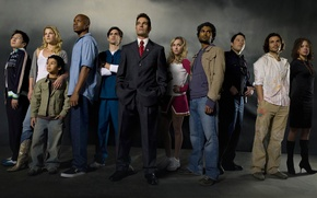 Picture Heroes, The series, Heroes, actors, Movies, background fog