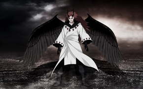 Picture Wings, The demon, Naruto, God Of War, God, Sennin, Uchiha Powers, God of war