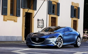 Wallpaper mazda-shinari concept, auto