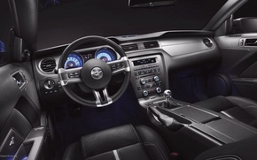 Picture mustang, ford, interior, goodlife
