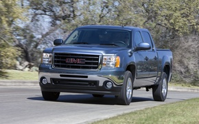 Picture auto, 2011, truck, American, pickup, GMC, Sierra