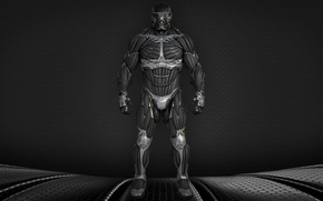 Picture Crysis, USA, game, Crysis 2, front, man, nanosuit, suit, Alcatraz, powerful, strong, muscular, James Rodriquez, …