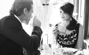 Picture restaurant, Glamour, Gemma Arterton, Luke Evans