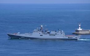 """Picture ship, Frigate, Sevastopol, The Black Sea Fleet, guard, """"Admiral Grigorovich"""", the project 11356"""