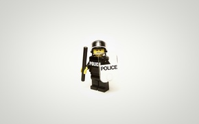 Picture police, minimalism, LEGO