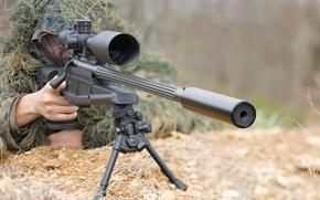 Wallpaper blazer, sight, sniper