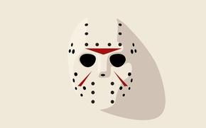 Picture Friday 13th, Hockey mask, Jason