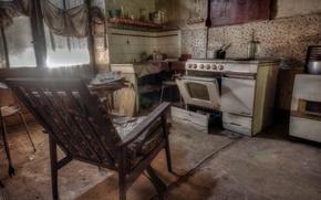 Picture furniture, window, kitchen