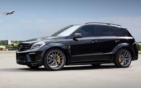 Picture Mercedes-Benz, Ball Wed, '2013, ML 63 AMG, (W166), Inferno Deceptikon