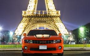 Picture Chevrolet, Camaro, Orange, 2012, Inferno