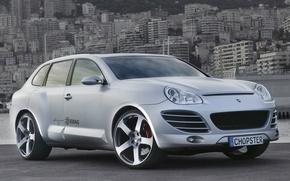 Picture Rinspeed, Porsche Cayenne, Design, Silver, Chopster, EDAG