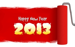 Picture new, New Year, hope, wishes happines