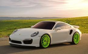 Picture Porsche, Turbo, 991, HRE, P103