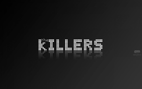 Picture minimalism, logo, indie rock, The killers
