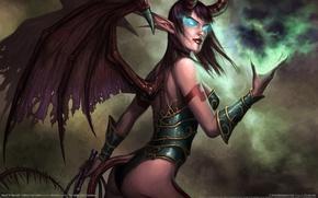 Wallpaper Succubus, World Of Warcraft, World of Warcraft