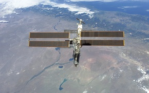 Picture space, Earth, ISS