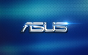 Picture computer, Wallpaper, logo, logo, texture, hi-tech, asus, ASUS